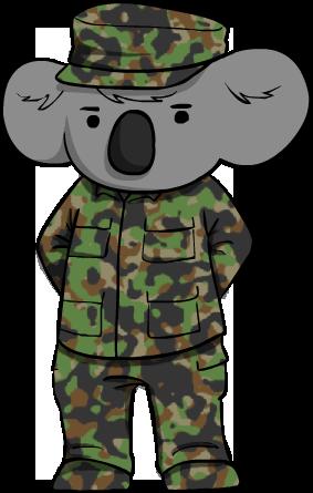 Army Koala