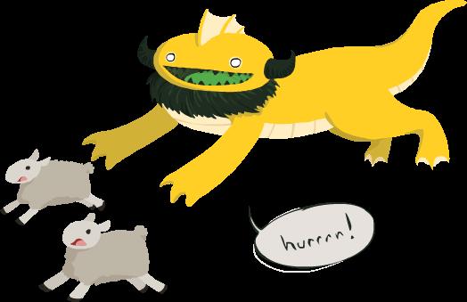 Hurrrr!