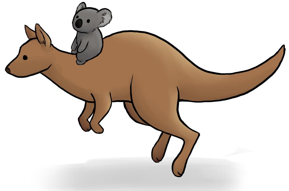 Koala Kangaroo